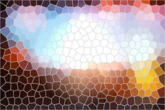 Stained glass background Stock Photo