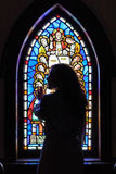 Stained Glass Beauty Royalty Free Stock Photography
