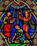Body of Christ - Stained Glass royalty free stock images