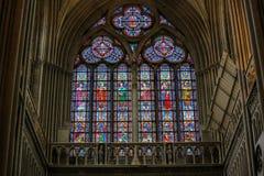 Stained Glass - Catholic Saints Royalty Free Stock Photos