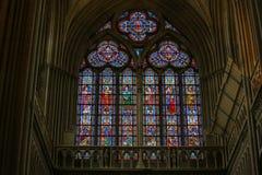 Stained Glass - Catholic Saints Royalty Free Stock Photo