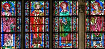 Stained Glass - Catholic Saints Stock Photos