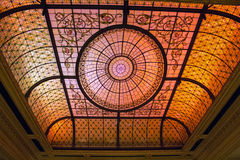 Stained Glass Ceiling Royalty Free Stock Photo