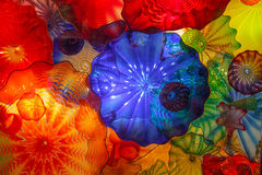 Stained Glass at Chihuly Garden and Glass Stock Photos