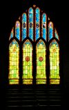 Stained Glass Christian Church Window in Hawaii Royalty Free Stock Photo
