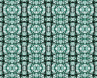 Stained Glass Church Mocukp Pattern Royalty Free Stock Photography