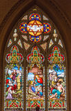Stained Glass Church of the Redeemer, Toronto stock image