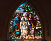 Stained Glass Church of the Redeemer, Toronto Royalty Free Stock Image