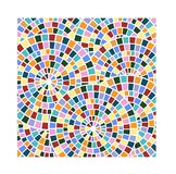 Stained Glass Circles Royalty Free Stock Photo