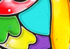 Stained glass color background Stock Photo