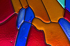 Stained glass color background Stock Images
