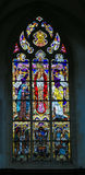 Stained Glass - The Crucifixion of Jesus Royalty Free Stock Photography
