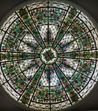 Stained Glass Cupola Stock Image
