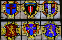 Stained Glass - D-day Stock Image