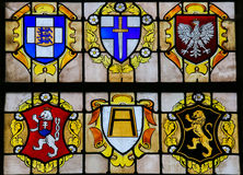 Stained Glass - D-day Royalty Free Stock Photos
