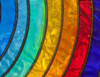 Stained-glass del Rainbow immagini stock