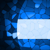 Stained glass design template. EPS 8 Stock Photos