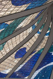 Stained glass detail Stock Images