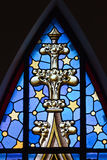 Stained glass - detail Royalty Free Stock Images