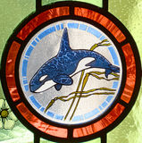 Stained glass, detail of legislative buildings Stock Photography