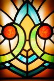 Stained glass detail Royalty Free Stock Images