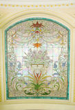 Stained glass detail - Stock Image Stock Photo