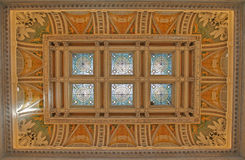 Stained Glass Dome, Library Royalty Free Stock Photography