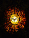 Stained glass dove Stock Images