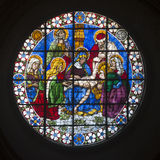 Stained Glass Duomo. Florence Stock Images