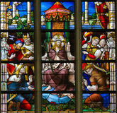 Stained Glass - Ecce Homo Stock Photos
