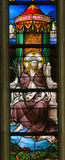 Stained Glass - Ecce Homo Stock Photography