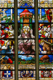 Stained Glass - Ecce Homo Stock Image