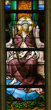 Stained Glass - Ecce Homo Royalty Free Stock Photos