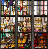 Stained Glass - Elisabeth of Culemborg Stock Photos