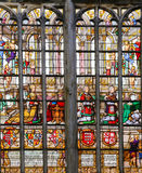 Stained Glass - Elisabeth of Culemborg Stock Photo