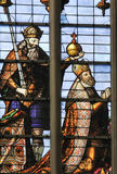 Stained Glass - Emperor Charles V Royalty Free Stock Photography