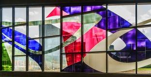 Stained-glass Ferron Marcelle παράθυρα (1968) Στοκ φωτογραφία με δικαίωμα ελεύθερης χρήσης