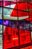Stained-glass Ferron Marcelle παράθυρα 1968 Στοκ Φωτογραφίες