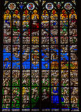 Stained glass - Final Judgment Royalty Free Stock Photo