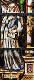 Stained Glass - Frances of Rome Royalty Free Stock Photo