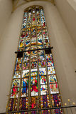 Stained glass from Frauenkirche in Munich Royalty Free Stock Photo