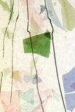 Stained glass fused confetti Stock Photo