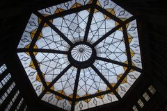 Stained Glass, Glass, Daylighting, Architecture Royalty Free Stock Photos