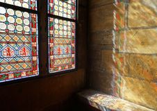 Stained Glass, Glass, Window, Material stock photo