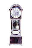 Stained glass grandfather clock Stock Image