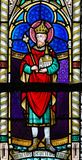 Stained Glass - Henry II, Holy Roman Emperor Royalty Free Stock Photography