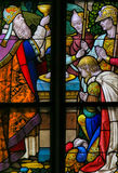 Stained Glass - Holy Communion Royalty Free Stock Photo