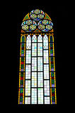 Stained glass istanbul. Church stained glass window istanbul Royalty Free Stock Photos