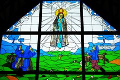 Stained Glass of Jesus royalty free stock images