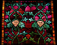 Stained Glass in Leon Stock Photography